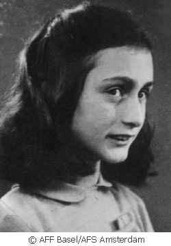 Anne Frank, © ANNE FRANK-Fonds, Basel / Anne Frank Stichting, Amsterdam
