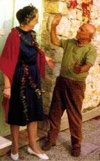 Angela Rosengart und Pablo Picasso (c) Angela Rosengart