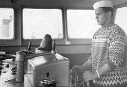 Prof. Dr. Rudolf Steiger als Schiffsjunge