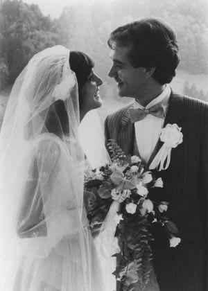 Hochzeitspaar 1980: Kurt Felix und Paola Felix-del Medico (c) Kurt Felix
