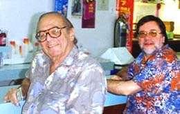 Art Paul und Georg Kreisler