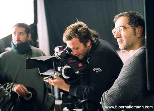 Regisseur Samir mit Kameramann