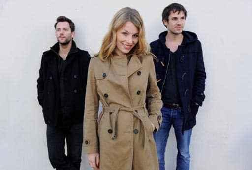 Das Trio Anna Rossinelli mit Manuel Meisel (l.) und Georg Dillier (c) Anna Rossinelli