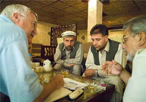 Prof. Dr. Albert Alexander Stahel am 1. Juli 2011 in Kabul. Foto: Jean-Jacques Ruchti