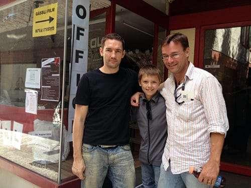 Nash Edgerton and Christian Dueblin in Basel