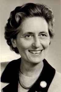 Dr. h. c. Marthe Gosteli, 1964 (c) Marthe Gosteli