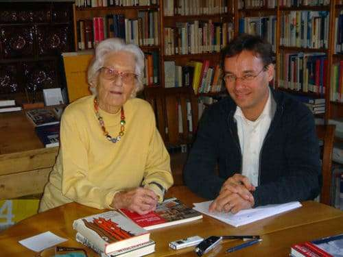 Marthe Gosteli und Christian Dueblin