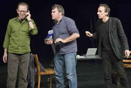 """Erfolg als Chance"" mit Mike Müller, Patrick Frey und Viktor Giacobbo (c) Viktor Giacobbo"