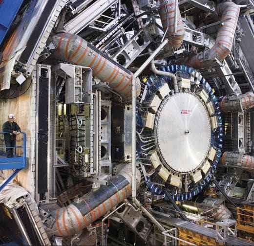 Der ATLAS Detektor (c) CERN