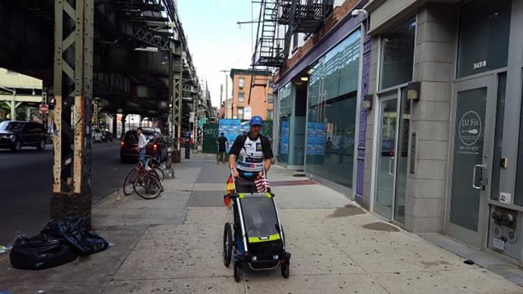 Robby Clemens: Zur Abwechslung auch einmal urban durch Brooklyn (New York) laufen