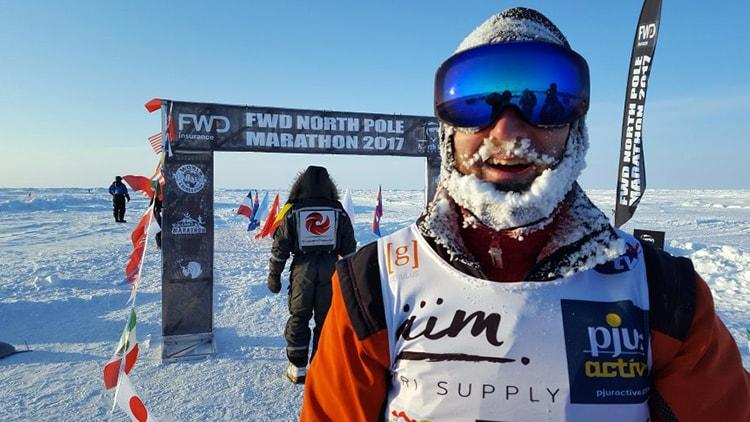 Robby Clemens: Zwischenstopp am FWD Nordpol-Marathon