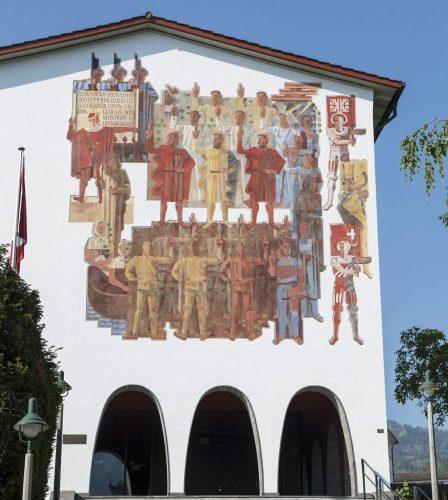 Das Bundesbriefmuseum in Schwyz