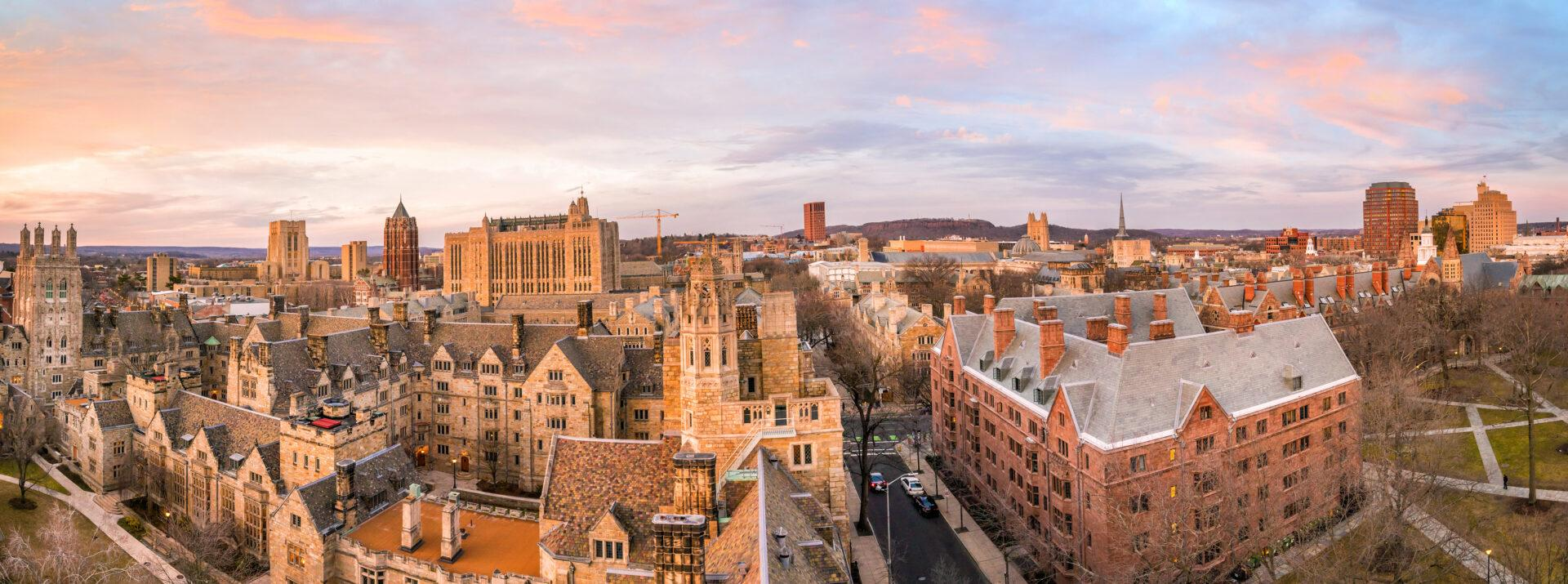 Yale university campus – Xecutives-Interview with Frederick Frank