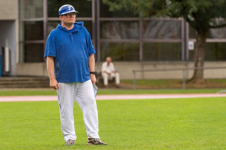 Bjoern Jensen Derendinger Baseball Coach der Therwil Flyers U15 Mannschaft und Opern-Regisseur, im Xecutives-Interview